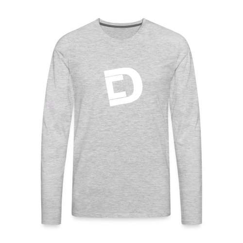 DrewskysChannel Youtube Logo - Men's Premium Long Sleeve T-Shirt