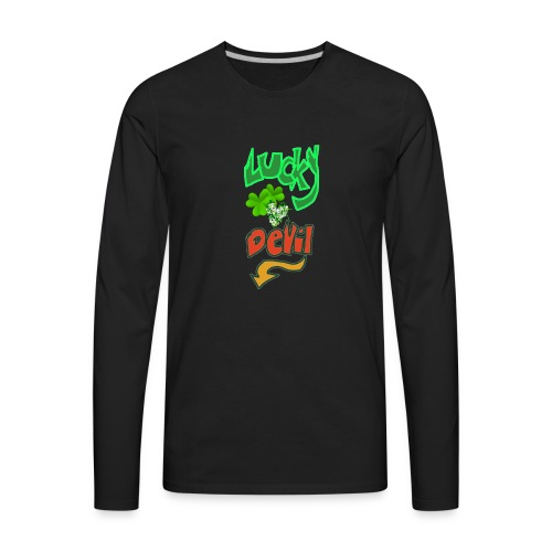 Lucky devil - Men's Premium Long Sleeve T-Shirt
