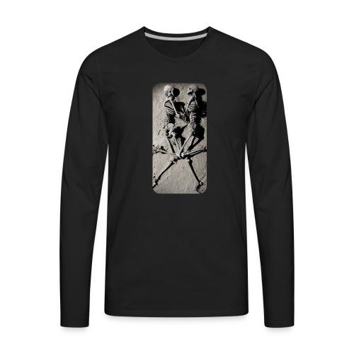 iphone skeletons - Men's Premium Long Sleeve T-Shirt