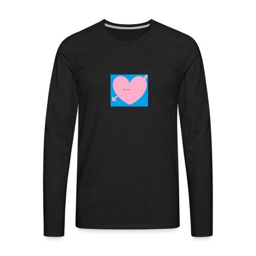 heart - Men's Premium Long Sleeve T-Shirt