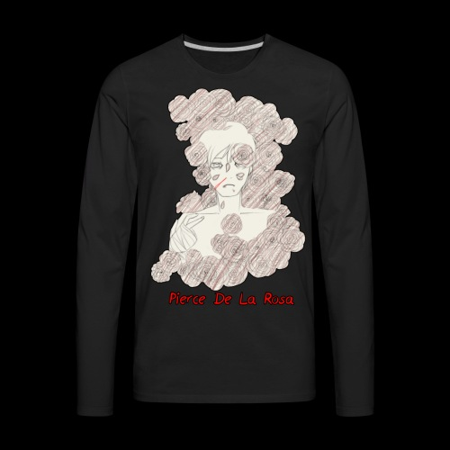 Pierce De La Rosa - Men's Premium Long Sleeve T-Shirt