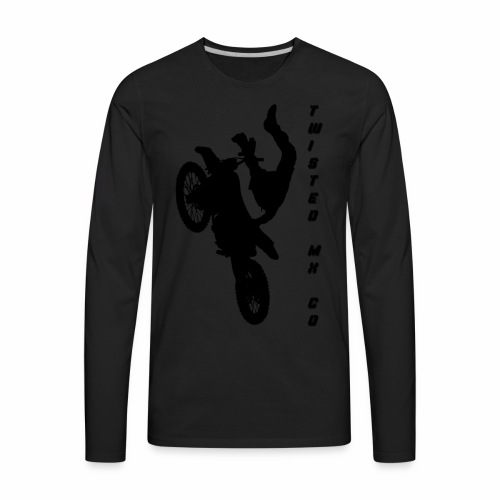 twisted bike - Men's Premium Long Sleeve T-Shirt