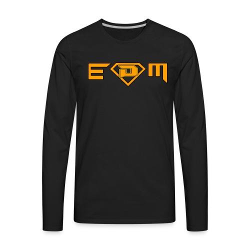 EDM music (DamieN Hea7eN Style) - Men's Premium Long Sleeve T-Shirt