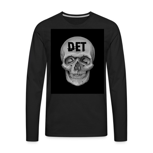 DET Skeleton - Men's Premium Long Sleeve T-Shirt