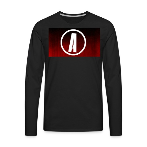 AlphaApexTV Logo Merch - Men's Premium Long Sleeve T-Shirt