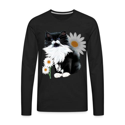Little Tux Kitten-Daisy - Men's Premium Long Sleeve T-Shirt