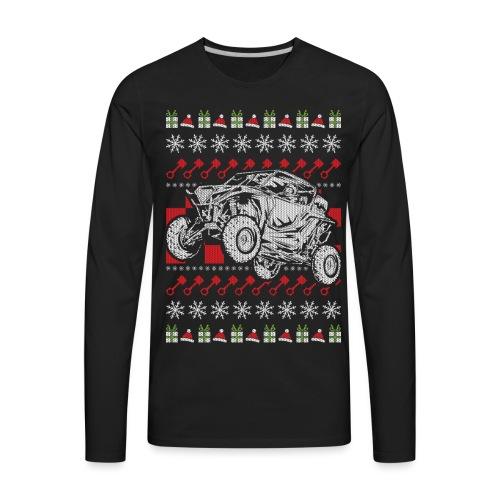 UTV Racing Christmas - Men's Premium Long Sleeve T-Shirt