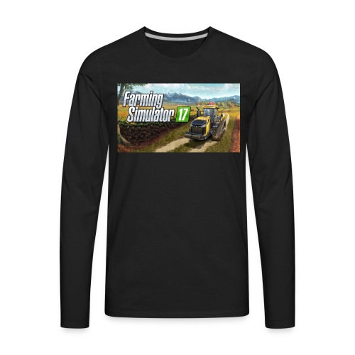 Farming Simulator 2017 Merchandise - Men's Premium Long Sleeve T-Shirt