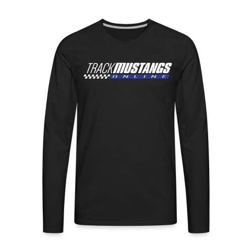 TMO Logo Light Text - Men's Premium Long Sleeve T-Shirt