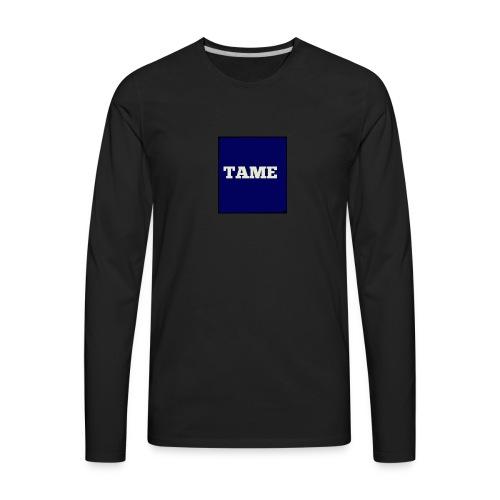 TAME Blue - Men's Premium Long Sleeve T-Shirt
