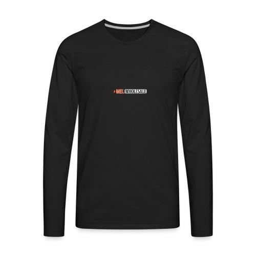 MEL-Wholesale-New-Years-Logo - Men's Premium Long Sleeve T-Shirt
