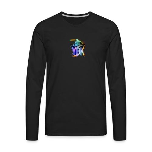 YBK NINJA MERCH - Men's Premium Long Sleeve T-Shirt