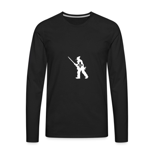 Patriote 1837 Québec - T-shirt Premium à manches longues pour hommes