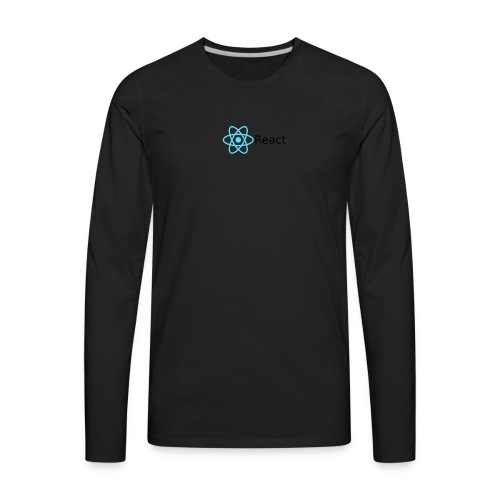 LetsReactYT merch - Men's Premium Long Sleeve T-Shirt