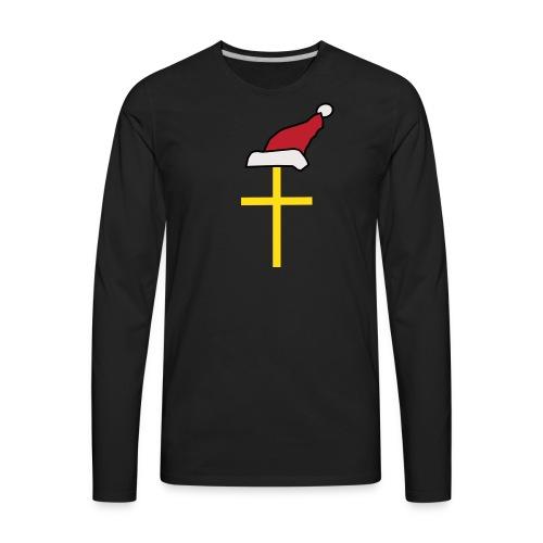 Santa Cross - Men's Premium Long Sleeve T-Shirt