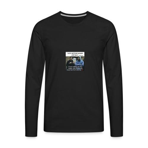 Friends down for friends - Men's Premium Long Sleeve T-Shirt