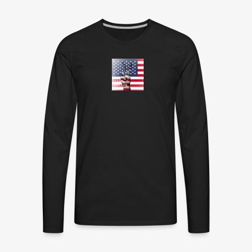 Pride America - Men's Premium Long Sleeve T-Shirt