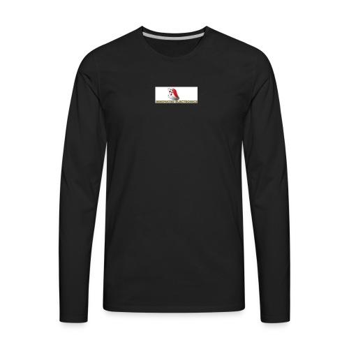 REAL YOUTUBE INNOVTED LOGO for shits - Men's Premium Long Sleeve T-Shirt