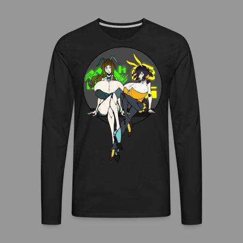 Leiur and Phara Tiddy Bunsuit - Men's Premium Long Sleeve T-Shirt
