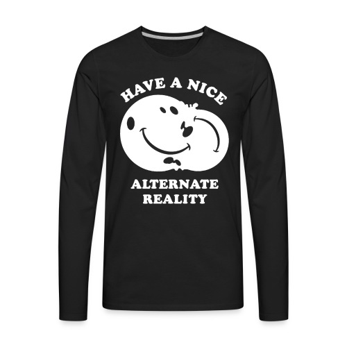 Alternate Reality - Men's Premium Long Sleeve T-Shirt