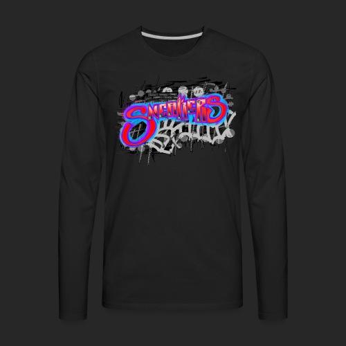 Sneakers Graffiti - Men's Premium Long Sleeve T-Shirt