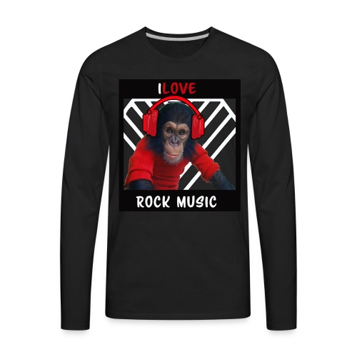 iLove - Men's Premium Long Sleeve T-Shirt