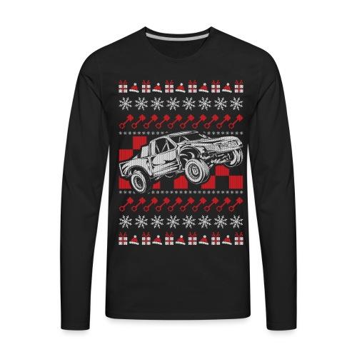 Pro Race Truck Christmas - Men's Premium Long Sleeve T-Shirt