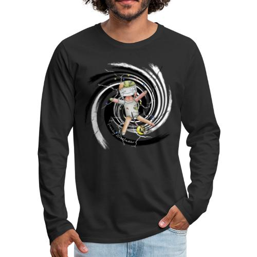 chuckies first dream - Men's Premium Long Sleeve T-Shirt