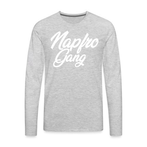 NAPFRO GANG (FANCY) - Men's Premium Long Sleeve T-Shirt