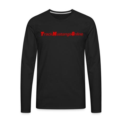 TMO Vintage Logo - Men's Premium Long Sleeve T-Shirt