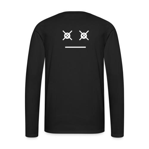 LazarusFaceWhite - Men's Premium Long Sleeve T-Shirt