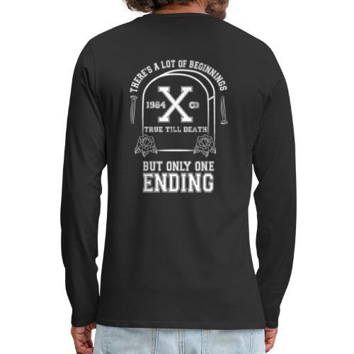 True Till Death Montreal SXE - Men's Premium Long Sleeve T-Shirt