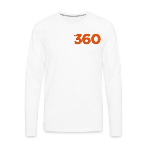 Move360 Logo LightGrey - Men's Premium Long Sleeve T-Shirt