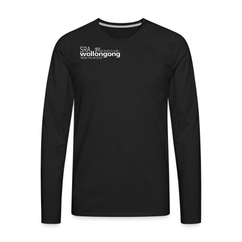 2019 SRA Logo png - Men's Premium Long Sleeve T-Shirt