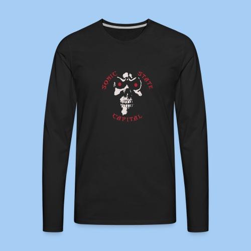 SSC-Scull - Men's Premium Long Sleeve T-Shirt