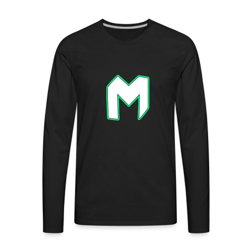 Player T-Shirt | Lean - Men's Premium Long Sleeve T-Shirt
