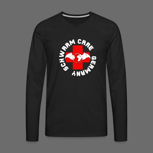 Schwarm-Care Official Merch - Men's Premium Long Sleeve T-Shirt