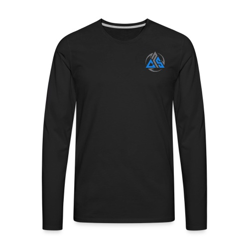 Front and back - Men's Premium Long Sleeve T-Shirt