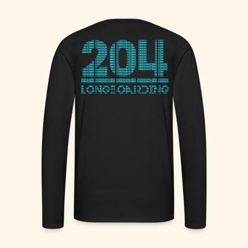 Letter-Ception - Men's Premium Long Sleeve T-Shirt