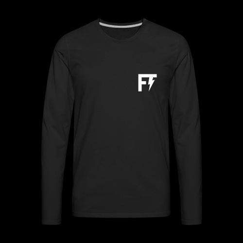 FT LOGO - Men's Premium Long Sleeve T-Shirt