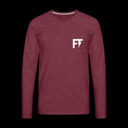 FT LOGO - Men's Premium Long Sleeve T-Shirt