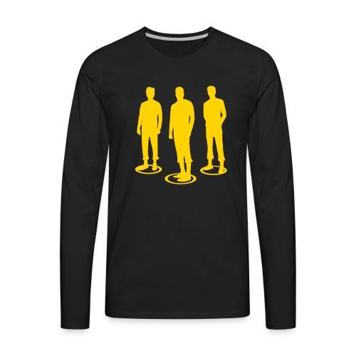 Pathos Ethos Logos 2of2 - Men's Premium Long Sleeve T-Shirt