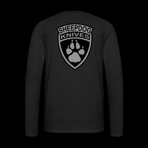 SheepDog Knives Logo - Men's Premium Long Sleeve T-Shirt