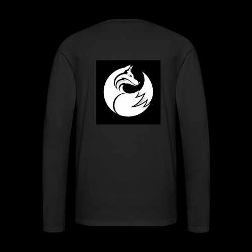 Confident wolf merch - Men's Premium Long Sleeve T-Shirt