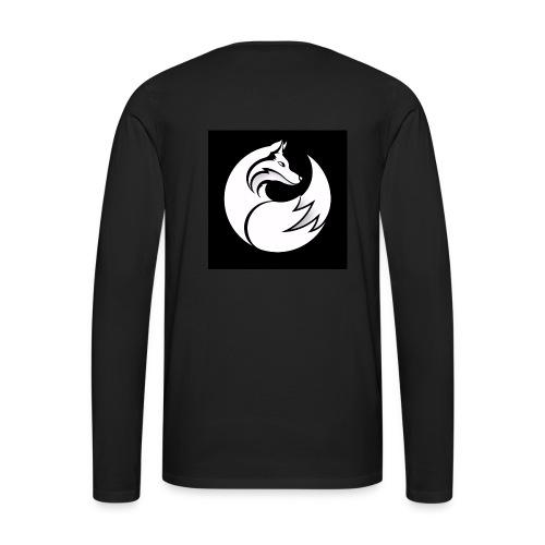 Confident wolf merch - Men's Premium Long Sleeve T-Shirt