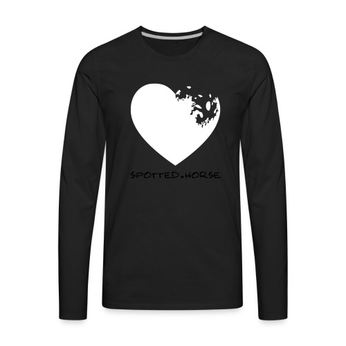 Appaloosa Heart - Men's Premium Long Sleeve T-Shirt