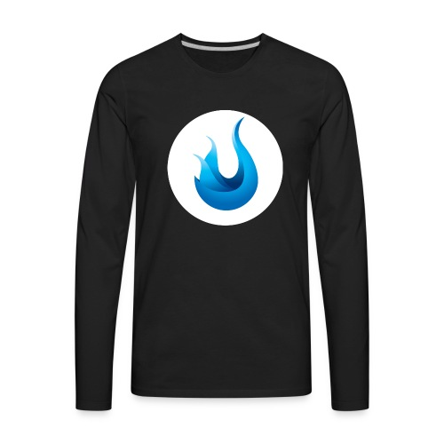 flame front png - Men's Premium Long Sleeve T-Shirt