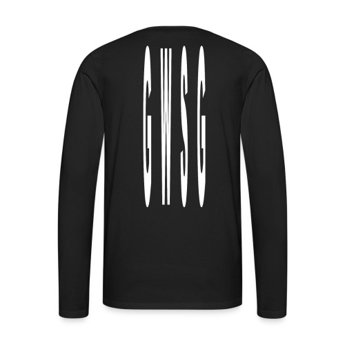 GWSG Type - Men's Premium Long Sleeve T-Shirt