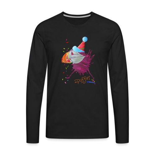 MR. PUFFIN - Men's Premium Long Sleeve T-Shirt