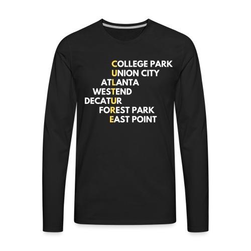 Culture Atlanta - Men's Premium Long Sleeve T-Shirt